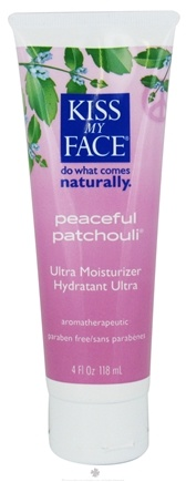 DROPPED: Kiss My Face - Ultra Moisturizer Peaceful Patchouli - 4 oz.