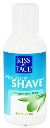DROPPED: Kiss My Face - Moisture Shave Fragrance Free - 1 oz. CLEARANCE PRICED
