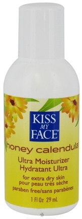 DROPPED: Kiss My Face - Ultra Moisturizer Honey & Calendula Trial - 1 oz.