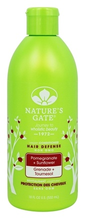 Nature's Gate - Vegan Conditioner Hair Defense Pomegranate + Sunflower - 18 oz.