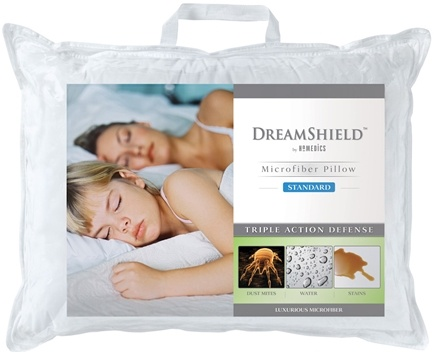 Zoom View - DreamShield Standard Size Microfiber Pillow DSH-MFPS