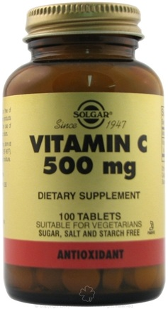 DROPPED: Solgar - Vitamin C 500 mg - 100 Tablets