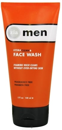 DROPPED: Zia - Mens HydraClean Face Wash - 5 oz. CLEARANCE PRICED