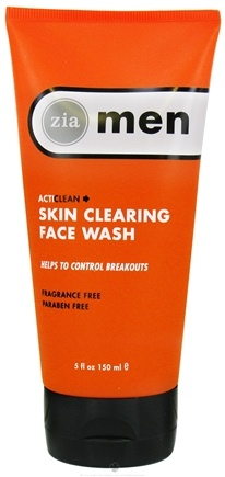 DROPPED: Zia - Mens ActiClean Skin Clearing Face Wash - 5 oz. CLEARANCE PRICED