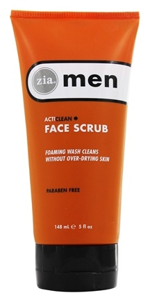 DROPPED: Zia - Mens ActiClean Face Scrub - 5 oz.