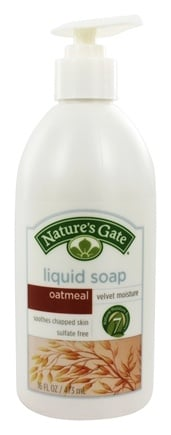 DROPPED: Nature's Gate - Liquid Soap Velvet Moisture Oatmeal - 16 oz.