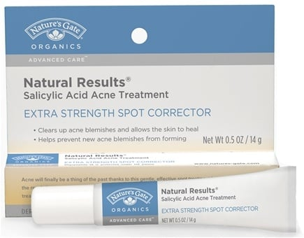 DROPPED: Nature's Gate - Natural Results Acne Treatment Extra Strength Spot Corrector Advanced Care - 0.5 oz.
