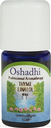 DROPPED: Oshadhi - Thyme Linalol Wild Essential Oil - 5 ml.