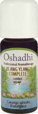 DROPPED: Oshadhi - Ylang Ylang Certified Organic Complete Essential Oil - 10 ml.