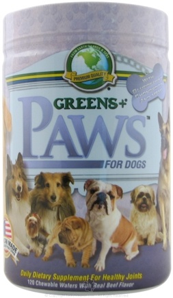 Zoom View - PAWS for Dogs with Glucosamine for Healthy Joints