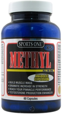 DROPPED: Sports One - Methyl Anabolic Explosion - 60 Capsules