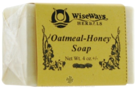 DROPPED: Wise Ways - Oatmeal-Honey Soap - 4 oz. CLEARANCE PRICED