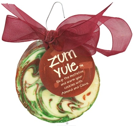 DROPPED: Indigo Wild - Zum Yule Soap Ornament Spiced Almond & Clove - 3 oz.