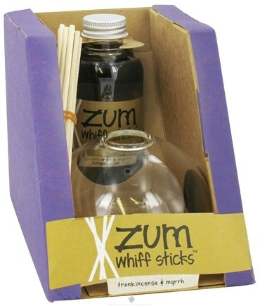DROPPED: Indigo Wild - Zum Whiff Sticks Set Frankincense & Myrrh - 4 oz.