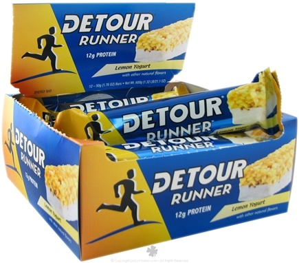 Zoom View - Detour Runner Protein Bar