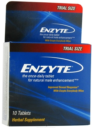 DROPPED: Enzyte - Once Daily Natural Male Enhancement - 10 Tablets