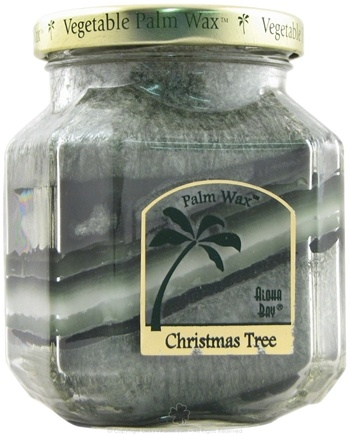DROPPED: Aloha Bay - Deco Jar Candle Christmas Tree - 8.5 oz.