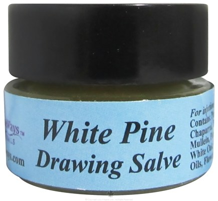 DROPPED: Wise Ways - White Pine Drawing Salve - 0.25 oz.