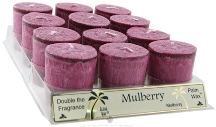 DROPPED: Aloha Bay - Votive Candle Mulberry - 2 oz. CLEARANCE PRICED
