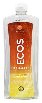 Zoom View - Dishmate Ultra Liquid Dishwashing Cleaner Natural Apricot