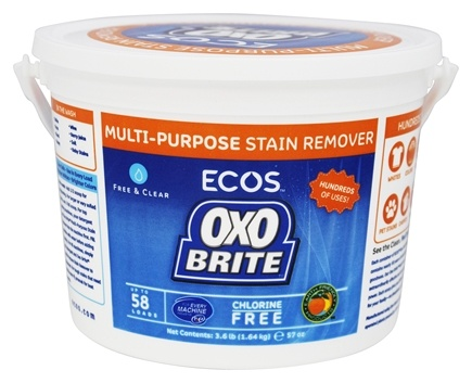 Earth Friendly - OXO Brite Fragrance-Free - 3.6 lbs.