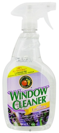 DROPPED: Earth Friendly - Window Cleaner Lavender - 22 oz. CLEARANCE PRICED