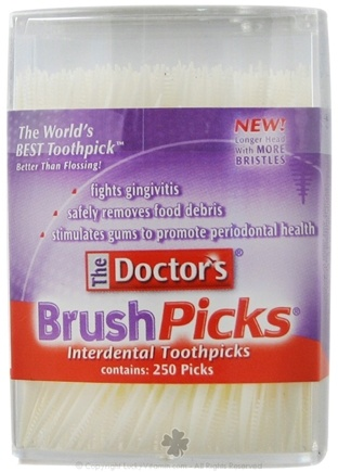 DROPPED: Doctor's - BrushPicks Interdental Toothpicks - 250 Pick(s) CLEARANCE PRICED