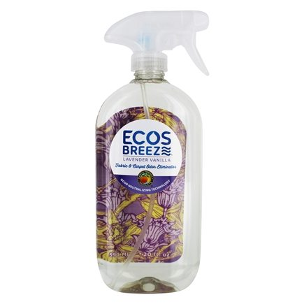Zoom View - Eco Breeze Fabric Refresher Lavender Mint