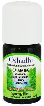 DROPPED: Oshadhi - Professional Aromatherapy Balancing Synergy Blend Essential Oil - 5 ml. CLEARANCE PRICED