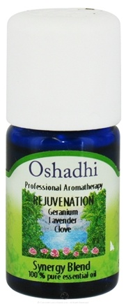DROPPED: Oshadhi - Professional Aromatherapy Rejuvenation Synergy Blend Essential Oil - 5 ml. CLEARANCE PRICED