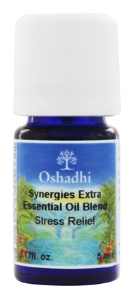 DROPPED: Oshadhi - Professional Aromatherapy Stress Relief Synergy Blend Essential Oil - 5 ml.