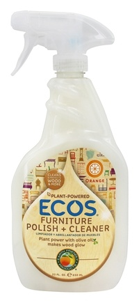 Earth Friendly - Furniture Polish with Natural Olive - 22 oz.