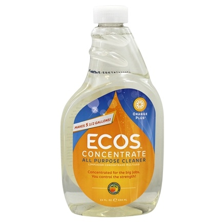 Earth Friendly - Orange Plus Concentrated All Purpose Household Cleaner Natural Orange - 22 oz. formerly Surface Cleaner