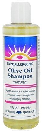 DROPPED: Heritage - Olive Oil Shampoo Hypoallergenic Unscented - 8 oz.