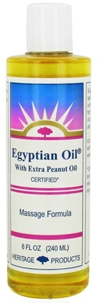 Zoom View - Egyptian Oil With Extra Peanut Oil Massage Formula