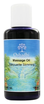 DROPPED: Oshadhi - Professional Aromatherapy Therapeutic Organic Massage Oil Silhouette Slimming - 100 ml.