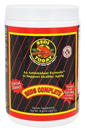 DROPPED: Greens Today - Reds Today Reds Complete Antioxidant Formula - 8.8 oz.