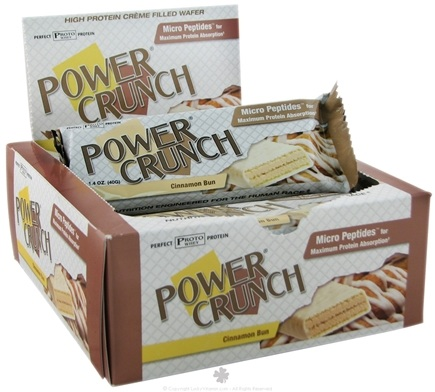 Zoom View - Power Crunch Wafer