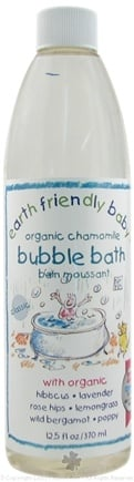 DROPPED: Earth Friendly Baby - Bubble Bath Organic Chamomile - 12.5 oz. CLEARANCE PRICED