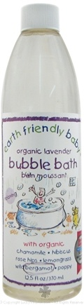 DROPPED: Earth Friendly Baby - Bubble Bath Organic Lavender - 12.5 oz. CLEARANCE PRICED
