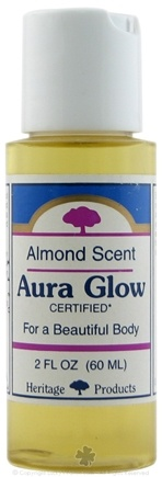 DROPPED: Heritage - Aura Glow Skin Lotion Almond - 2 oz. CLEARANCE PRICED