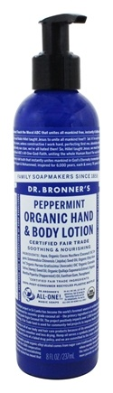 Dr. Bronners - Magic Organic Lotion Peppermint - 8 oz.