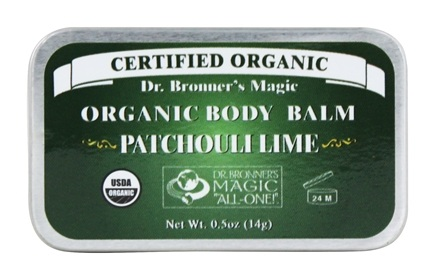 Dr. Bronners - Magic Organic Balm Patchouli Lime - 0.5 oz.