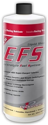 DROPPED: 1st Endurance - EFS Liquid Shot Refill Vanilla Flavor - 32 oz. CLEARANCE PRICED