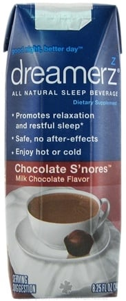 Zoom View - Sleep Beverage Chocolate S'nores