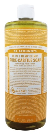 Dr. Bronners - Magic Pure-Castile Soap Organic Citrus Orange - 32 oz.