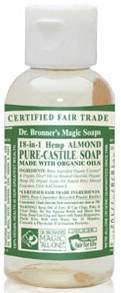 DROPPED: Dr. Bronners - Magic 18-in-1 Hemp Pure Castile Soap Almond - 2 oz.