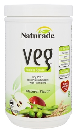 DROPPED: Naturade - Veg Protein Booster Natural Flavor - 13.7 oz.