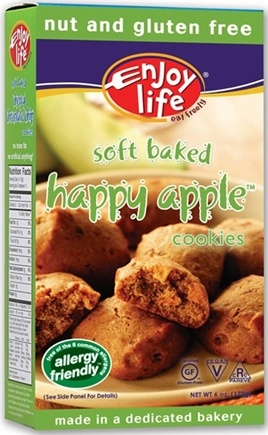 DROPPED: Enjoy Life Foods - Happy Apple Cookies CLEARANCE PRICED - 6 oz.