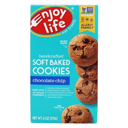 Enjoy Life Foods - Soft Baked Cookies Chocolate Chip - 6 oz.
